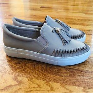 $140 J/SLIDES Aztec Tassel Slip-On Sneaker 9